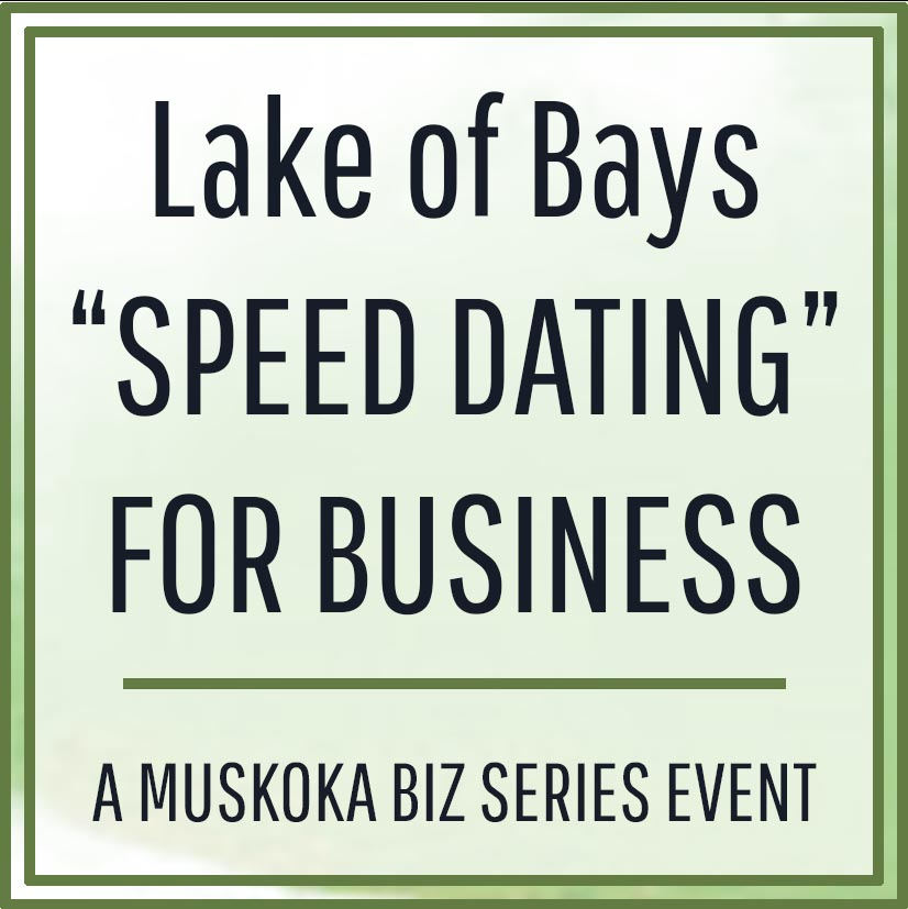 Speed dating for small businesses - YouTube