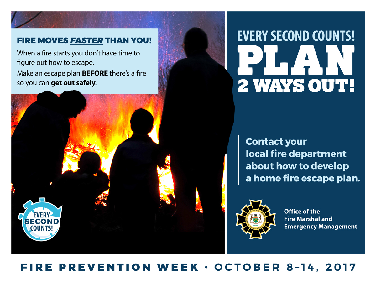 Practice your home fire escape plan during fire prevention for How to make a home fire escape plan
