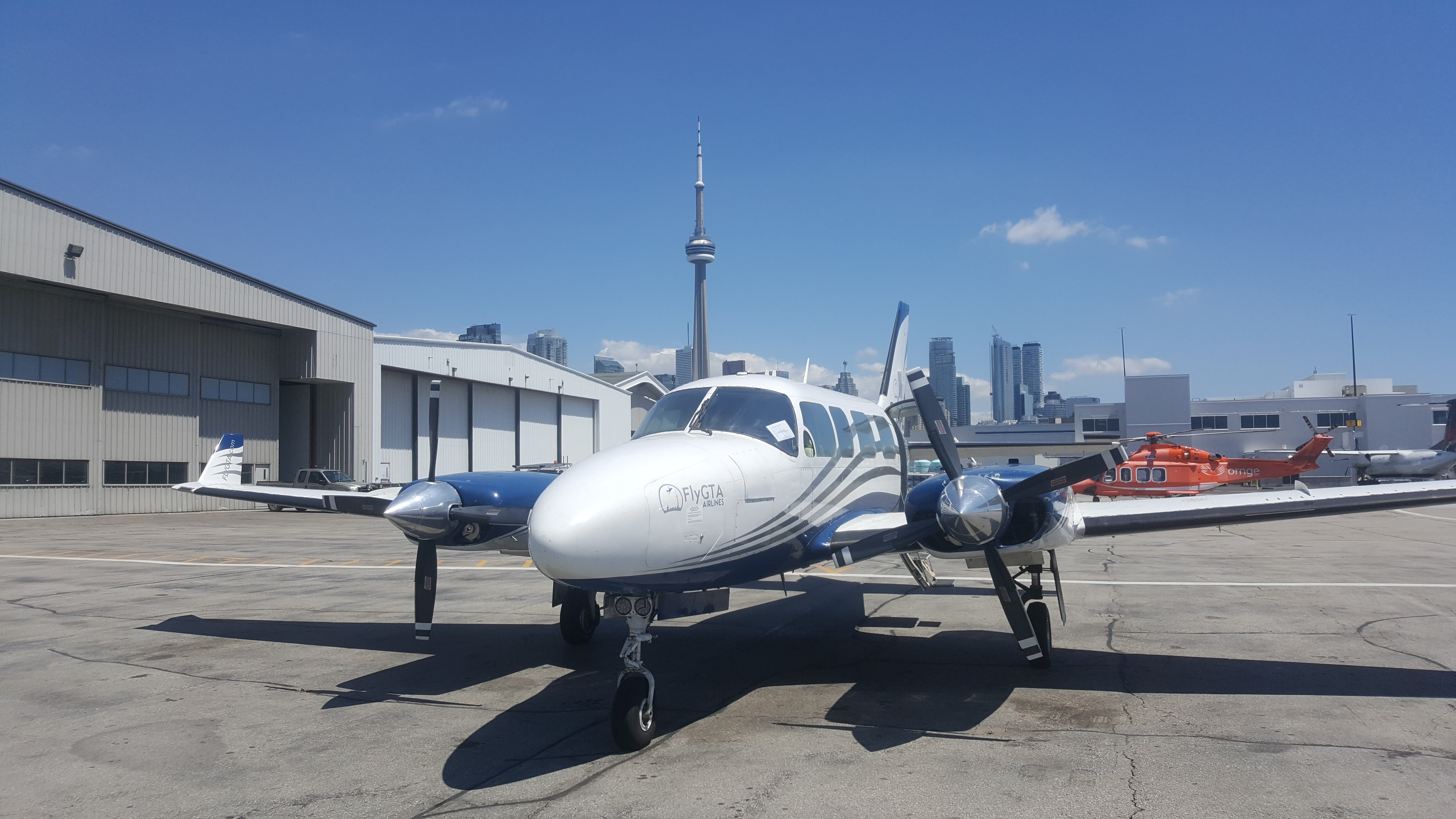 FlyGTA Launches Flights from Toronto to Muskoka to Cut Down the ...