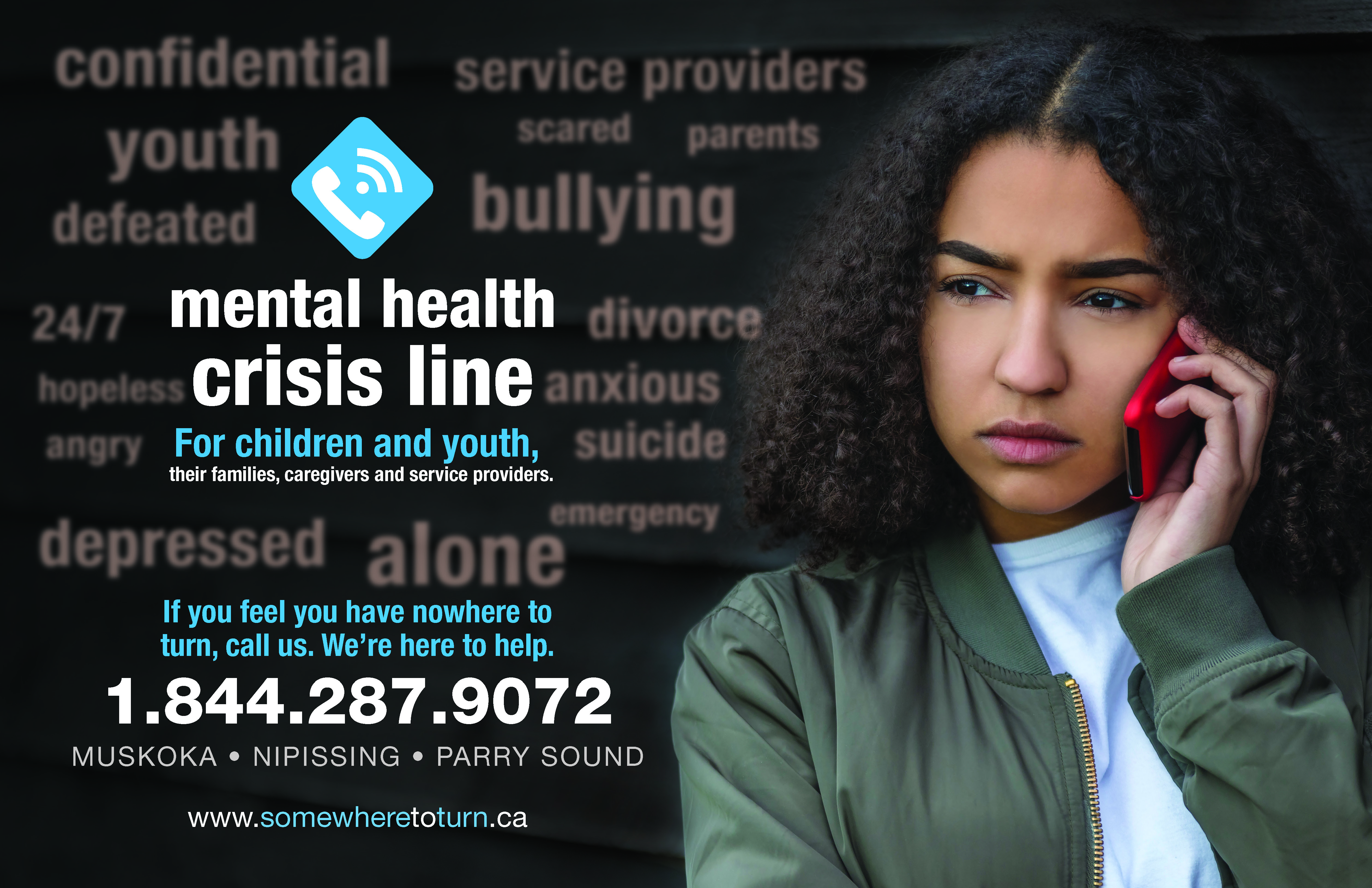 24/7 mental health crisis line for children and youth launches