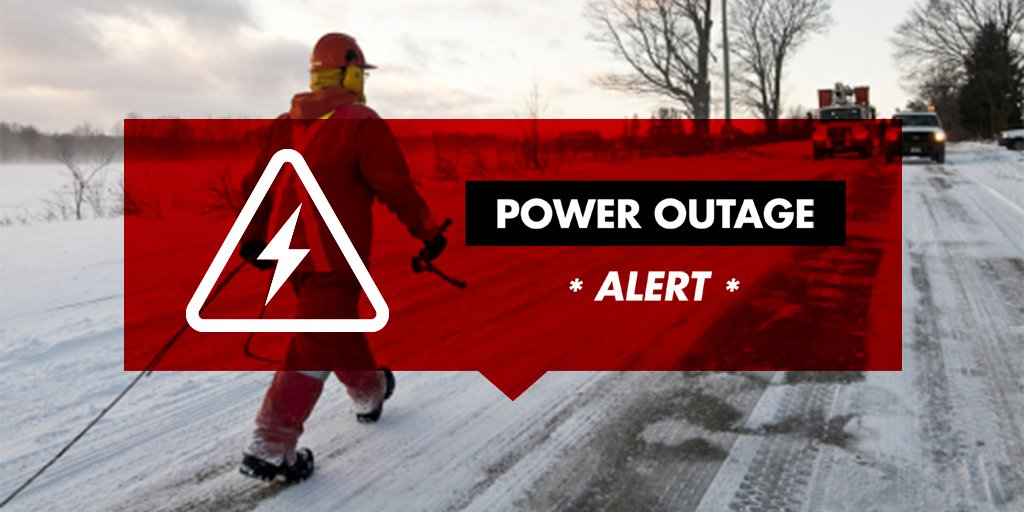 Emergency Planned Power Outage Tonight For McDougall