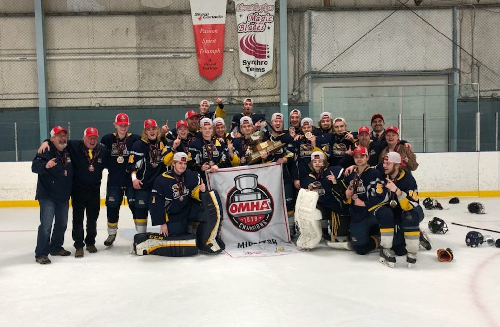 Huntsville Otters Major Midget Hockey Team Defeats Mount