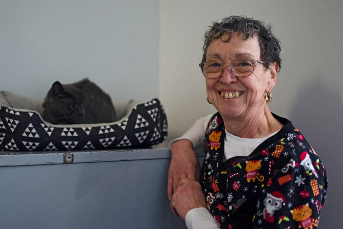 Barb MacLeod, founder of the Comfie Cat Shelter