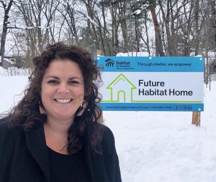 Trisha Cowie Habitat Bala fundraising