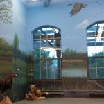 Donated mural at Onondaga Farms
