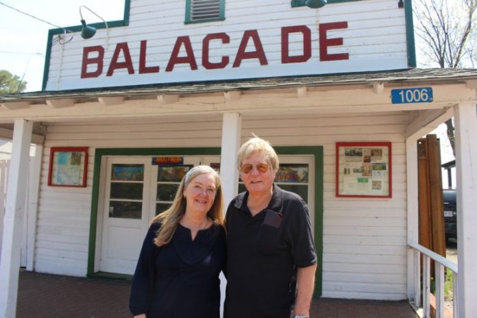 Patricia and Paul Arney, previous owners of the Balacade. The Arneys sold the arcade to new owner Grant Caton in 2017