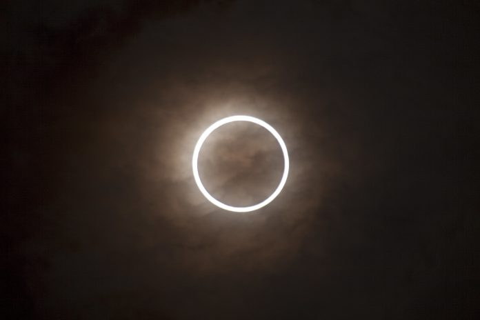An annular eclipse in 2012