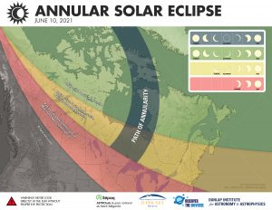Annular solar eclipse, June 10