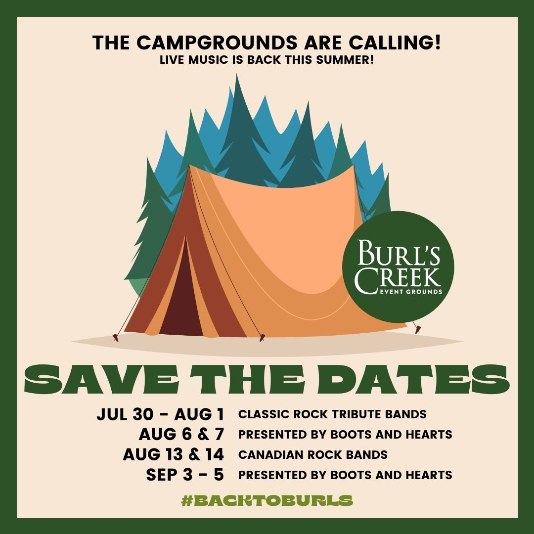 Camping And Music This August Long Weekend At Burl's Creek - muskoka411.com