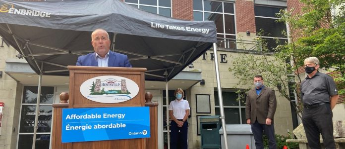 Natural Gas Expansion announcement with Todd Smith, Norm Miller