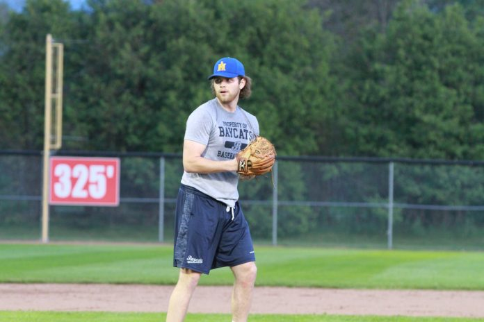 Joining the Barrie Baycats, Mason Robertson, 19, is a native of Orillia.