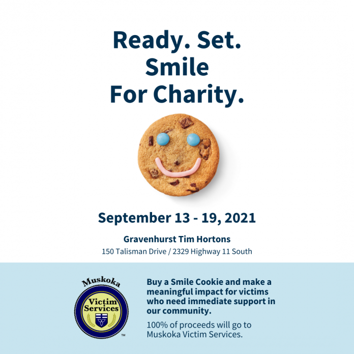 Smile Cookie campaign 2021: Poster reads,
